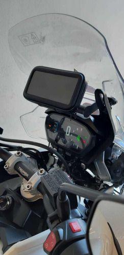 SUPORTE GPS E CELULAR TRIUMPH TIGER800 BRAZ