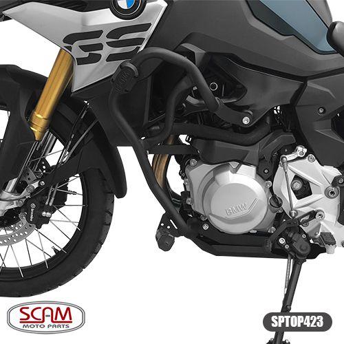 PROTETOR MOTOR CARENAGEM C/ PEDAIS BMW F750/F850 GS SCAM