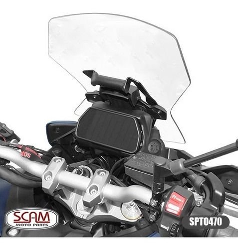 SUPORTE GPS YAMAHA MT09 TRACER GT 2020+ SCAM