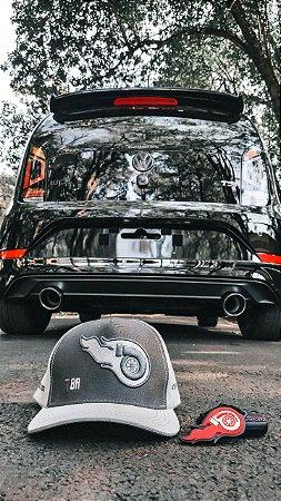 KIT BRABO FULL - Boné TBR® - Capa Protetora de silicone para chave VW - Chaveiro - Adesivos