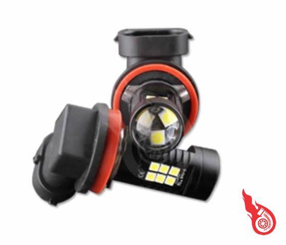 Milhas Led Lampada H11 Projetor Integrado 6000K
