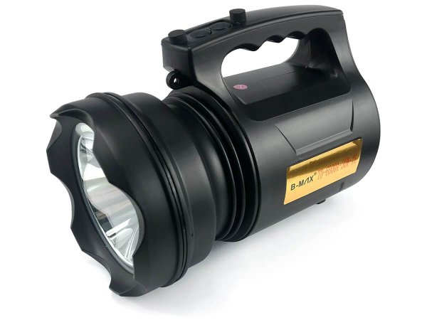 Lanterna Holofote Super Potente Led 30w Recarregável Resistente Á Água TD-6000A