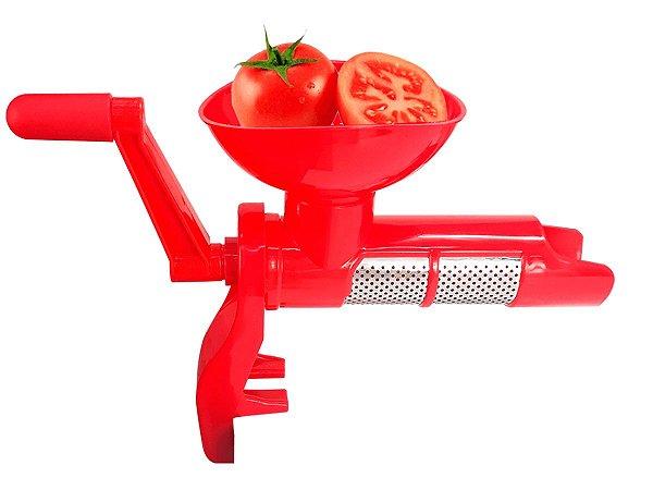 Máquina Moedor Espremedor Em Plástico Manual Multiuso a Manivela Para Molho De Tomate Caseiro 123 Util