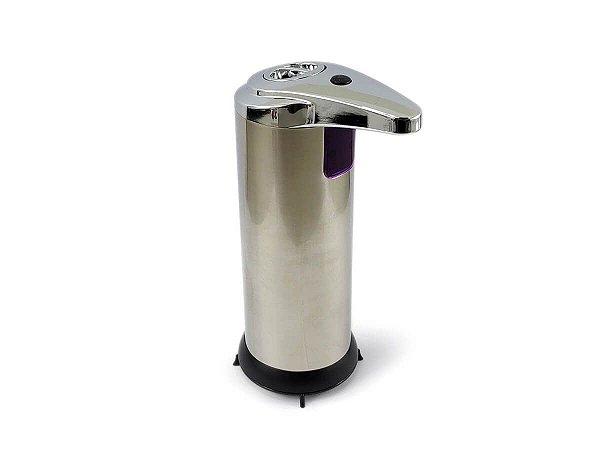 Saboneteira Dispenser De Sabão Liquido Ou Álcool Gel Com Sensor Infravermelho Automática Resistente Inox