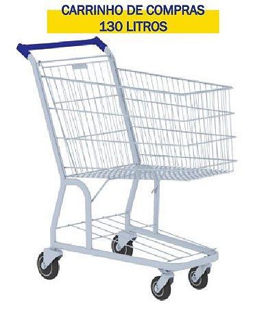 CARRINHO DE COMPRAS 130 LITROS