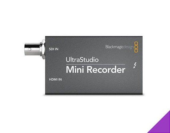 PLACA DE CAPTURA BLACKMAGIC ULTRASTUDIO MINI RECORDER 1080P