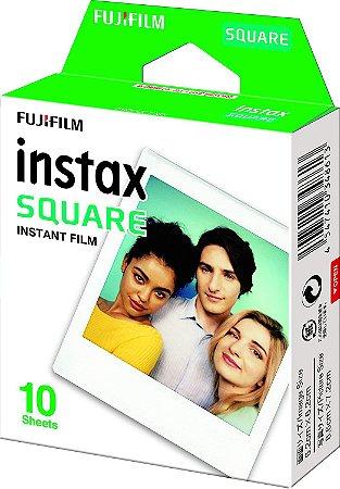 PAPEL FOTOGRÁFICO FUJIFILM INSTAX SQ6 COM 10 FOTOS