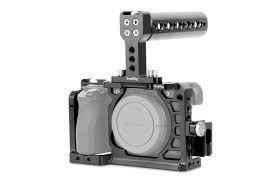 Cage SmallRig para A6000/a6300/A6400/a6500 (151mmx88mm) com Handle Grip