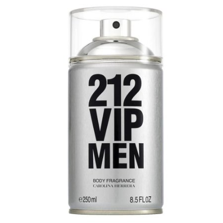 CAROLINA HERRERA 212 VIP MEN BODY SPRAY MASCULINO