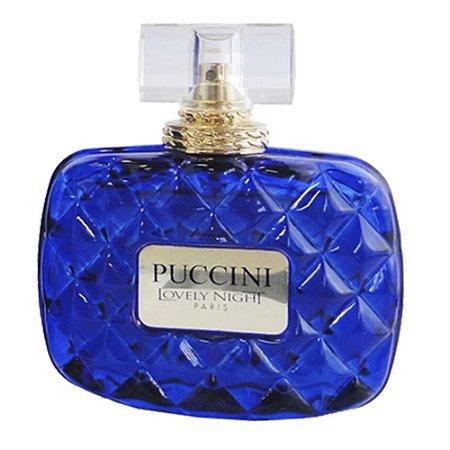 PUCCINI LOVELY NIGHT BLUE EDP FEMININO