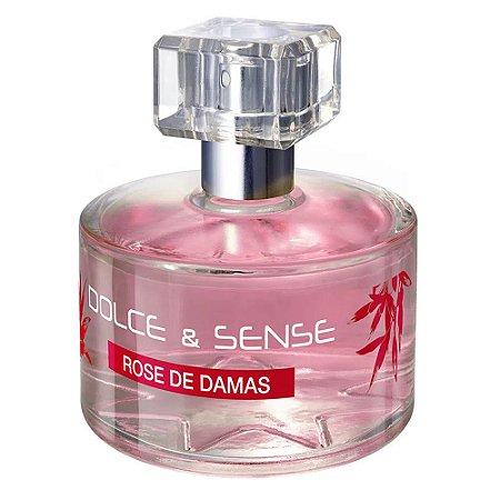 PARIS ELYSEES DOLCE & SENSE ROSE DE DAMAS EDP FEMININO