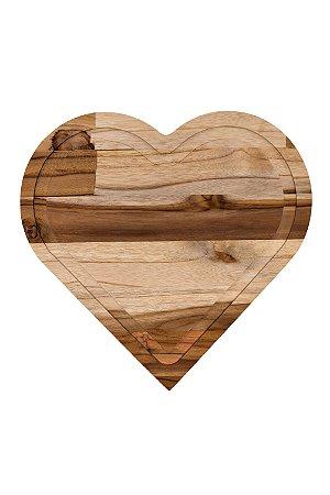 Tábua de corte Churrasco Frios Gourmet - Coração
