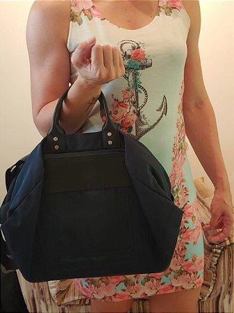 Bolsa de mão com alça tiracolo removível