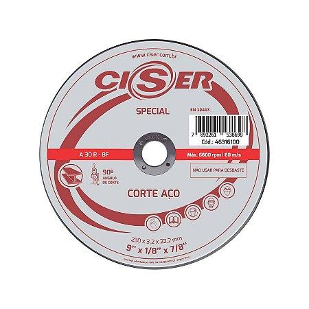 Disco Corte Metal 230x3,0x22,23 Ciser