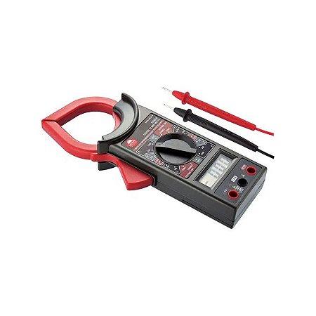 Multímetro Digital Com Alicate Amperímetro Worker