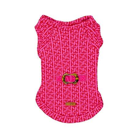 Casaquinho de jackard Tutti pink