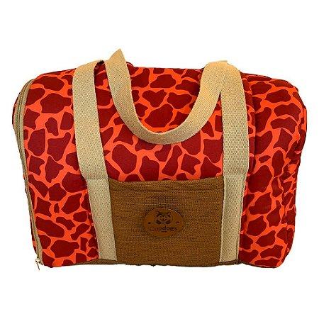 Bolsa de transporte girafa coral