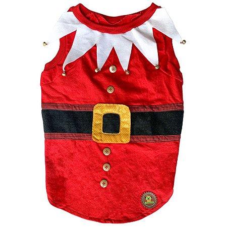 tshirt natal vermelho