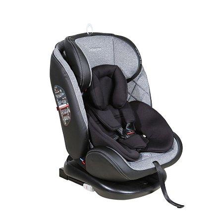 Cadeira Para Auto 360° Isofix 0 - 36kg Cinza Gaia