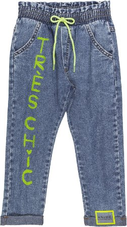 Calça Jeans Carimbo - Animê