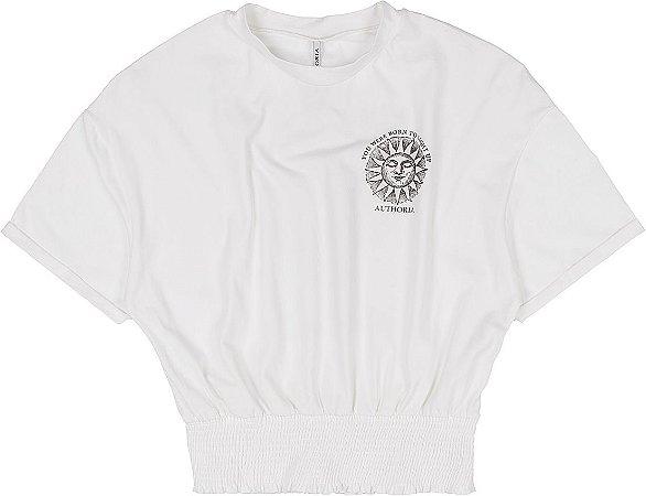 T-Shirt Estampada Com Latex - AUTHORIA