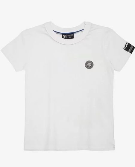 T-Shirt Branca Dinossauro - YOUCCIE
