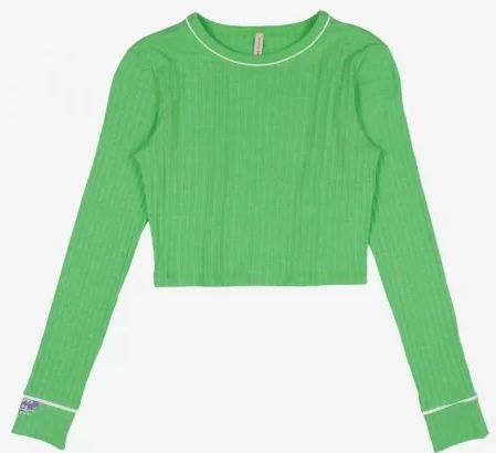 Blusa Canelada Verde - IAM AUTHORIA