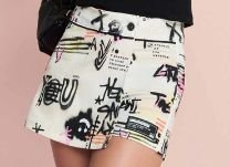 Shorts-saia Sarja Urban Grafite - IAM AUTHORIA