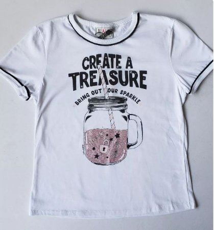 T-Shirt CREATE TREASURE - IAM AUTHORIA