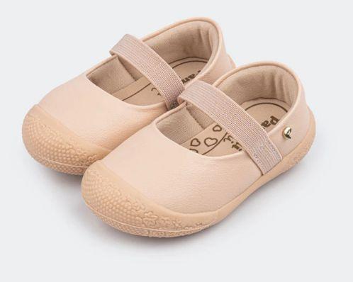 Sapato Primeiros Passos Danda Básico Rosa - Pampili