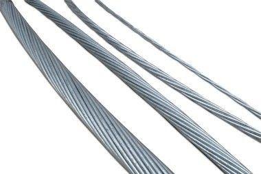 Cordoalha de Aço Aluminizada 53% IACS LC (VENDIDO POR METRO)