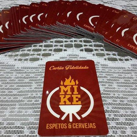 Cartão Fidelidade em PVC