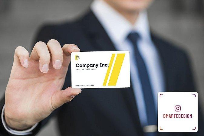 Cartão de Visita em PVC 75mm