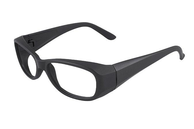 1920e0e4a5f64 Óculos de segurança grau Vésper preto fosco