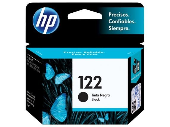 Cartucho de Tinta HP 122 CH561HB Preto - Original 2ml
