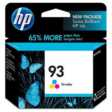 Cartucho de Tinta HP 93 C9361WB Color - Original 7ml