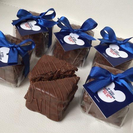 Pão De Mel com Chocolate Belga (30 Unidades) - Personalizado