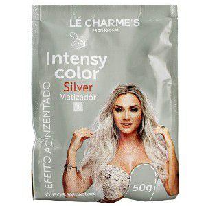 Sachê Matizador Intensy Color  Silver efeito acinzentado Le Charmes 50g