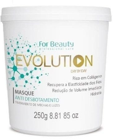 Máscara Evolution Anti Desbotamento For Beauty 250g