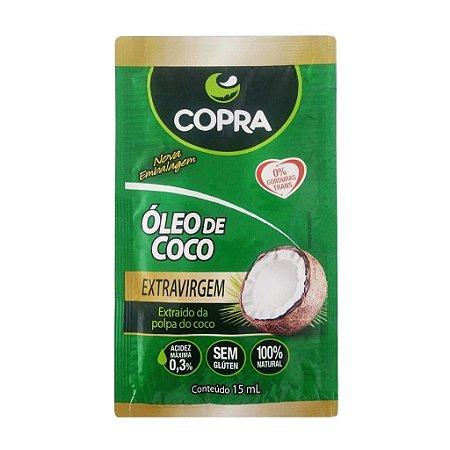 Sachê Óleo De Coco Extravirgem Copra 15ml