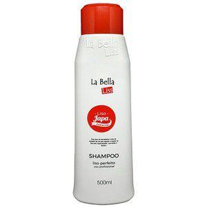 Liso Japa Shampoo que Alisa La Bella Liss 500ml