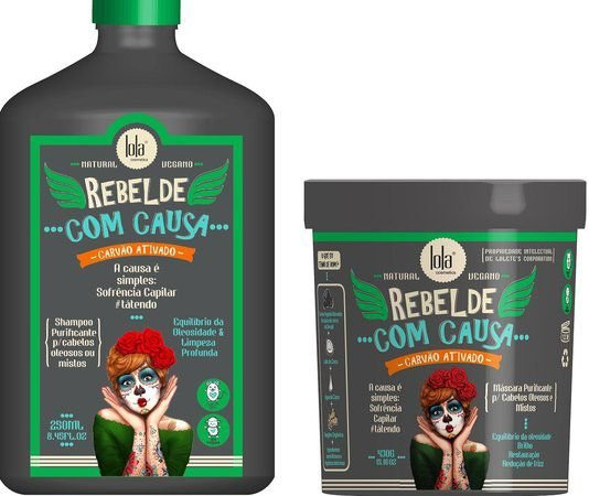 Kit Purificante Restauradora Lola Rebelde Com Causa