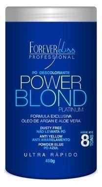 Pó Descolorante Power Blond 450gr Forever Liss