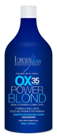 Power Blond Agua Oxigenada 35 Volumes 900ml Forever Liss