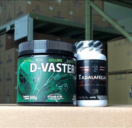 Pré Treino D-Vaster + Tadalafellas Original