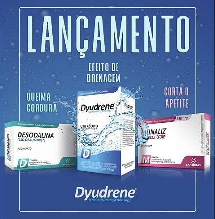 Desodalina, Dyudrene e Monaliz Meu Controle - Combo para Emagrecer Rápido!