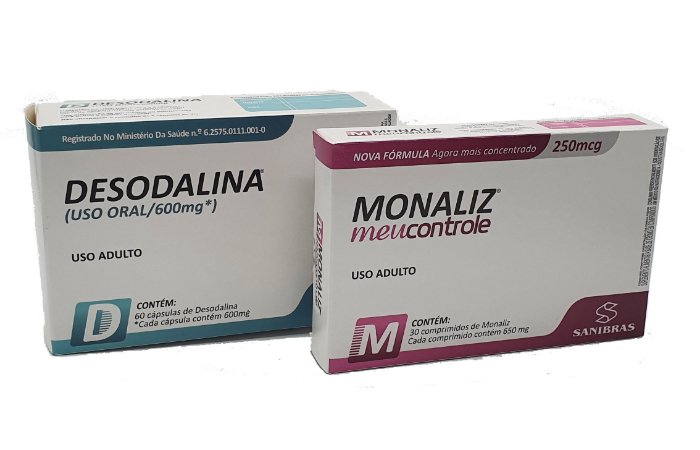 Desodalina e Monaliz Meu Controle - Combo para Emagrecer e Tirar a Fome!