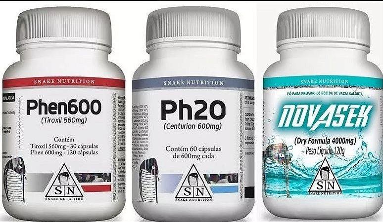 Ph20, Phen600 e NovaSek - Super Combo Snake Nutrition