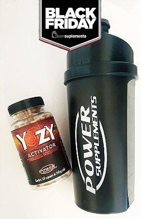 Compre 1 Yozy Activator e Ganhe 1 Coqueteleira da Power Supplements - BLACK FRIDAY