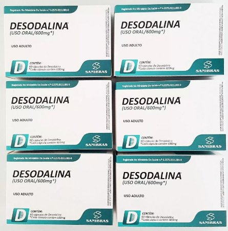 Desodalina - Combo com 6 Caixas (360 cápsulas)